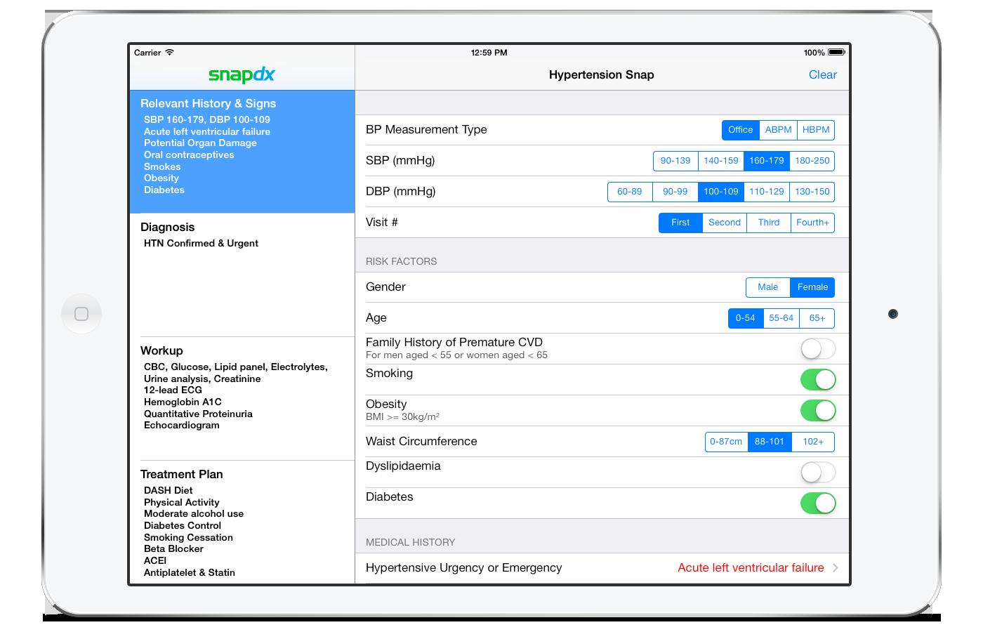 SnapDx Provider Intake Form